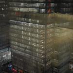Вид на здание «New York Times» из нашего номера