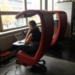 «Тихие» кабинки для работы в Urban Workshop