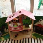 Элемент детского уголка в Vallila library