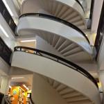 Сохраненная винтовая лестница