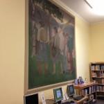 Сохраненная фреска